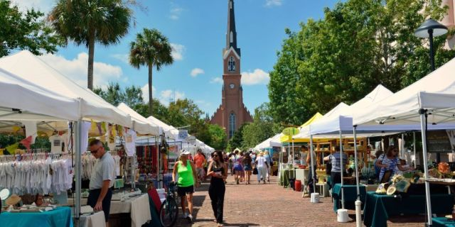 Charleston Farmers Market at Marion Square
