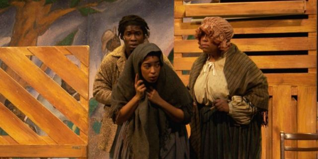 HARRIET TUBMAN AND THE UNDERGROUND RAILROAD AT THE GAILLARD