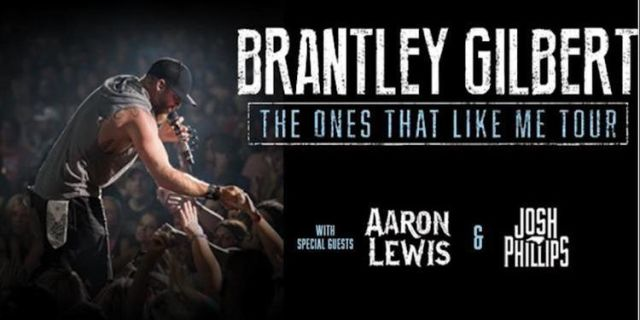 BRANTLEY GILBERT AT THE NORTH CHARLESTON COLISEUM