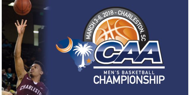 CAA MEN'S BASKETBALL CHAMPIONSHIP AT THE NORTH CHARLESTON COLISEUM