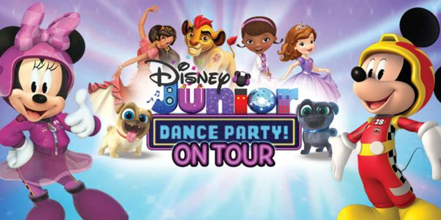 DISNEY JUNIOR DANCE PARTY ON TOUR AT THE GAILLARD CENTER