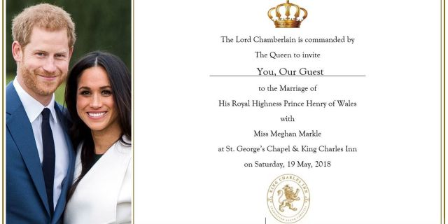 Royal Wedding Weekend Celebration at King Charles Inn