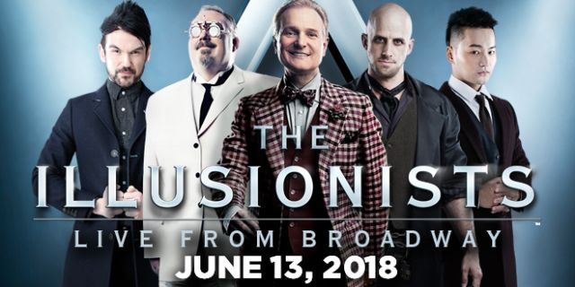 The Illusionists at the North Charleston Performing Arts Center