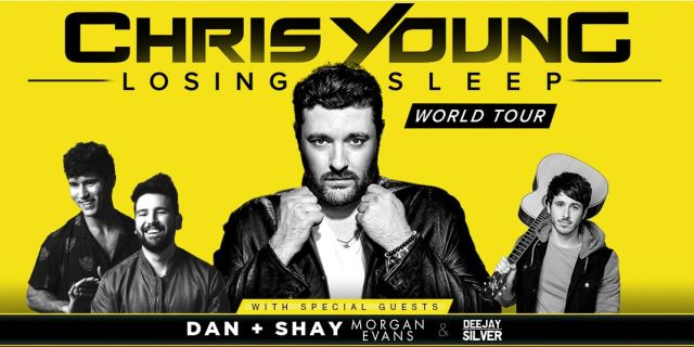 Chris Young' Losing Sleep World Tour at the Volvo Stadium