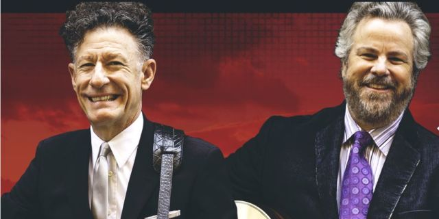 AN EVENING WITH LYLE LOVETT & ROBERT EARL KEEN AT THE GAILLARD CENTER
