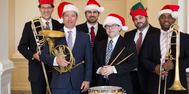 HOLIDAY BRASS WITH DOC SEVERINSEN AND PHIL SMITH AT THE GAILLARD CENTER