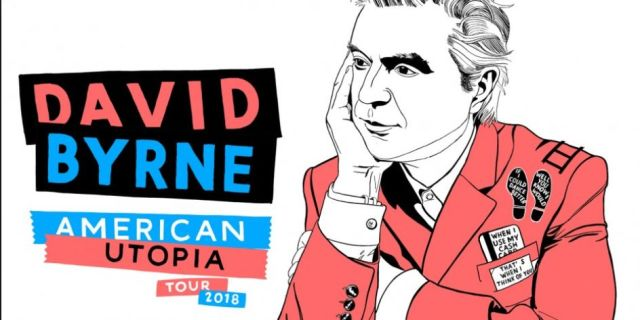 DAVID BYRNE: AMERICAN UTOPIA TOUR AT THE NORTH CHARLESTON PERFORMING ARTS CENTER