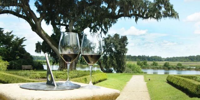 Fall Garden Stroll + Wine Tasting at Middleton Place