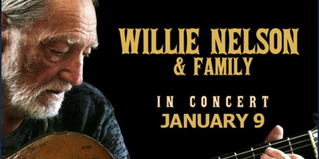 WILLIE NELSON & FAMILY AT THE NORTH CHARLESTON PERFORMING ARTS CENTER