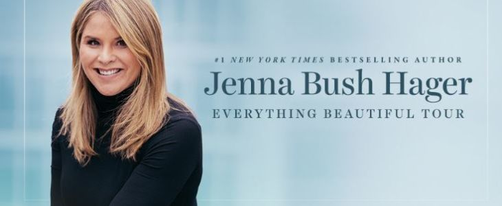 Jenna Bush Smiling For The Camera