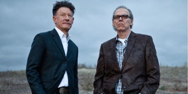 :Lyle Lovett and John Hiatt at The Gaillard Center